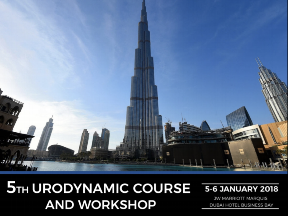 5th Urodynamic Course and Workshop - January 5-6, 2018