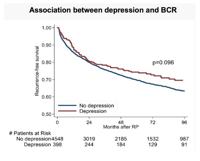 SU gráfico de depresión y BCR de 2019