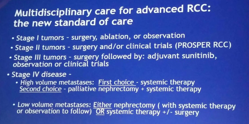 UroToday ASCO2018 CARMENA new standard of care RCCe