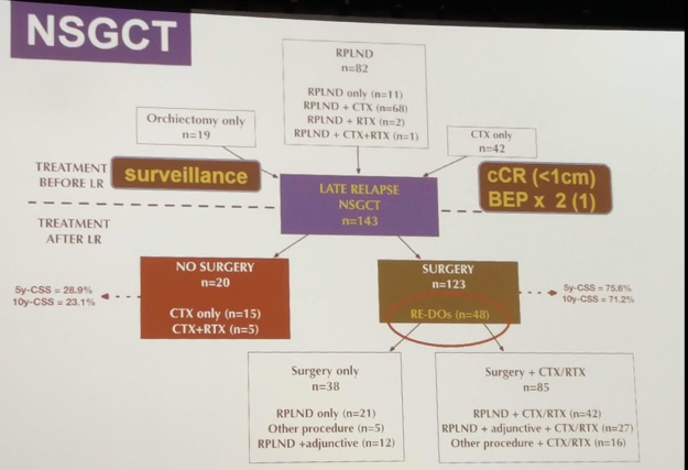 CUA 2018: Late Relapse of Testicular Cancer