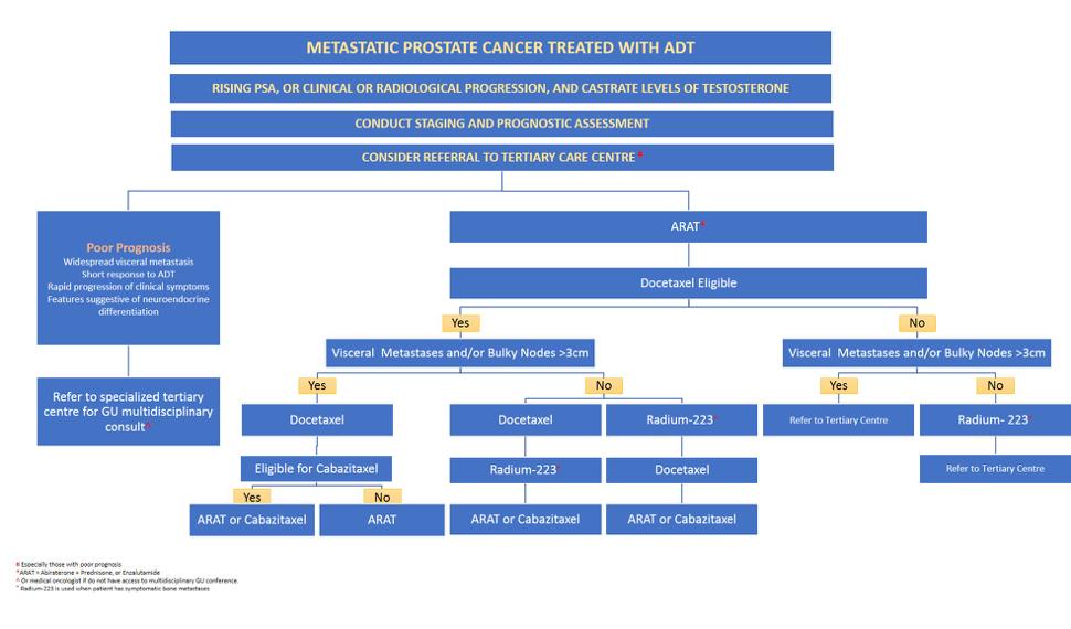 CUA 2018: Metastatic Castration-Resistant Prostate Cancer