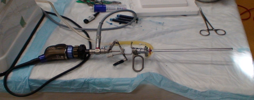 UroToday Cystoscopy and Injection Set Up