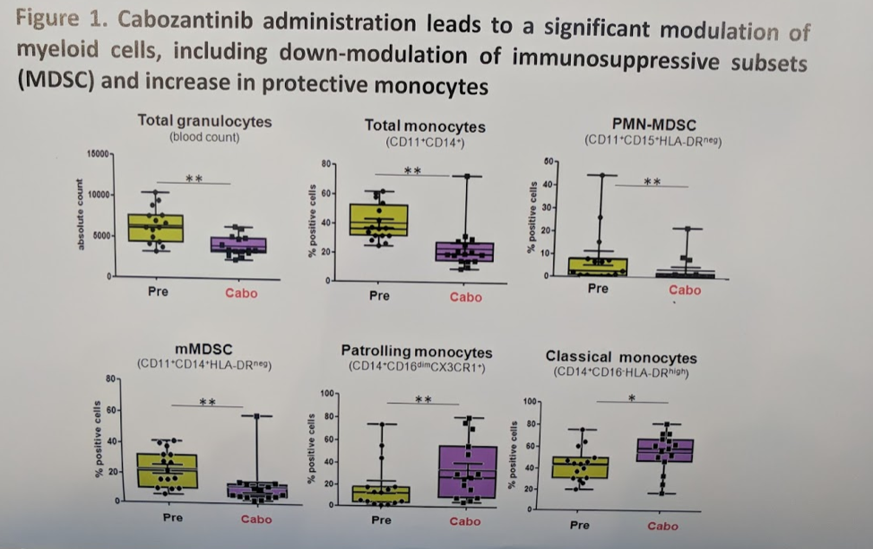 ESMO 2018: COSMIC-021, Phase Ib Study of Cabozantinib in