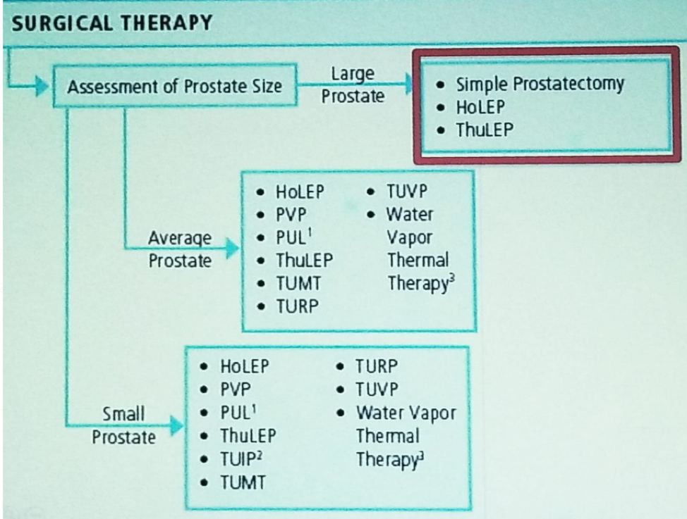UroToday NSAUA2018 Potential surgical modalities for the treatment of BPH