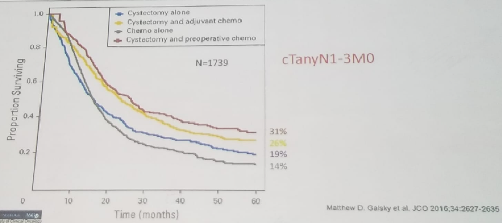 UroToday WCE2018 Comparison of different treatment strategies in Clinical node positive disease