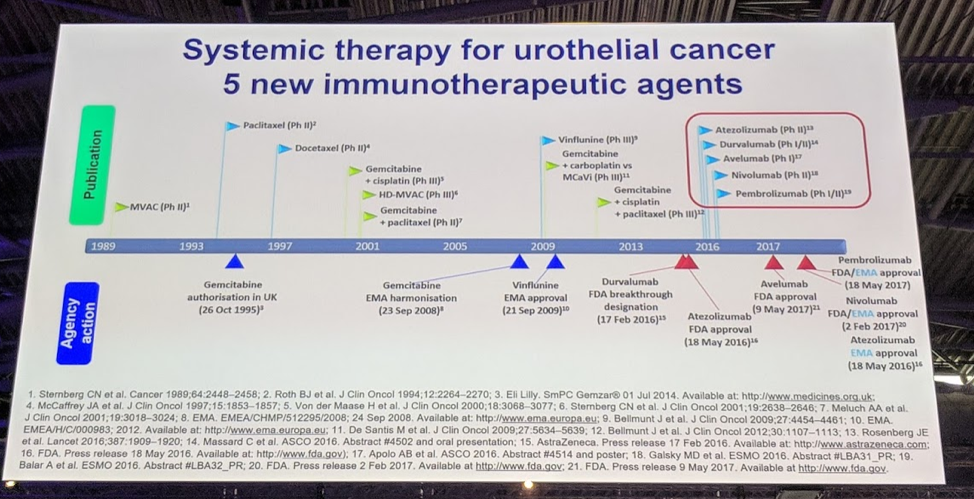 Urothelial Cancer Immunotherapeutic Agents